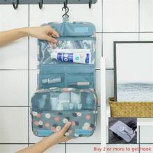 Travel Makeup Bag Large Waterproof Portable Man Toiletry Bag Women Cosmetic Organizer Pouch Hanging Wash Bags Ladies Beauty Bag