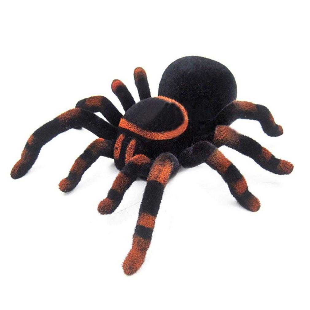 parede de escalada aranha brinquedos controle remoto infravermelho rc tarantula presente do miudo brinquedo simulacao peludo