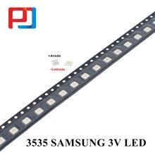 Samsung led backlight led de alta potência 1 w 3537 3535 100lm branco fresco spbwh1332s1bvc1bib lcd backlight para 3000 pces tv aplicação