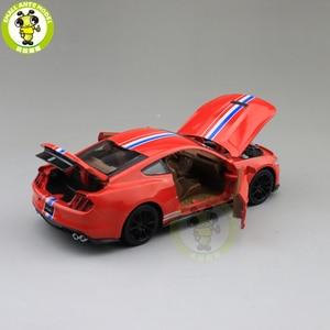 Image 5 - 1/32 Mustang Shelby GT350 Diecast Xe Ô Tô Mô Hình Đồ Chơi Trẻ Em Bé Trai Bé Gái Trẻ Em Quà Tặng