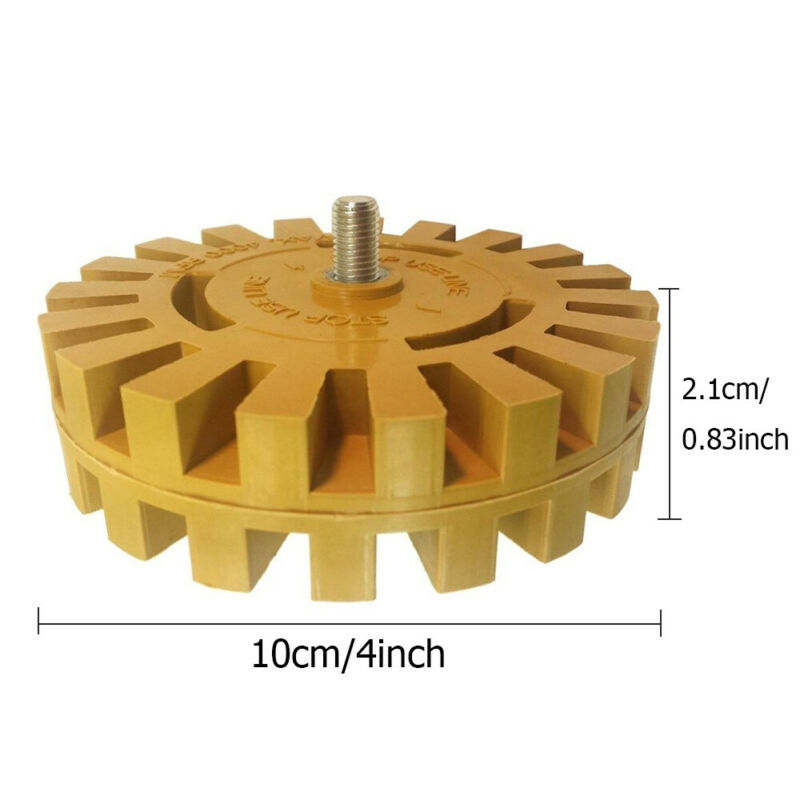 Removal Rubber Eraser Wheel CNC Abrasive Decal Set Drill Adapter Car Pinstripe Polishing Tool Practical