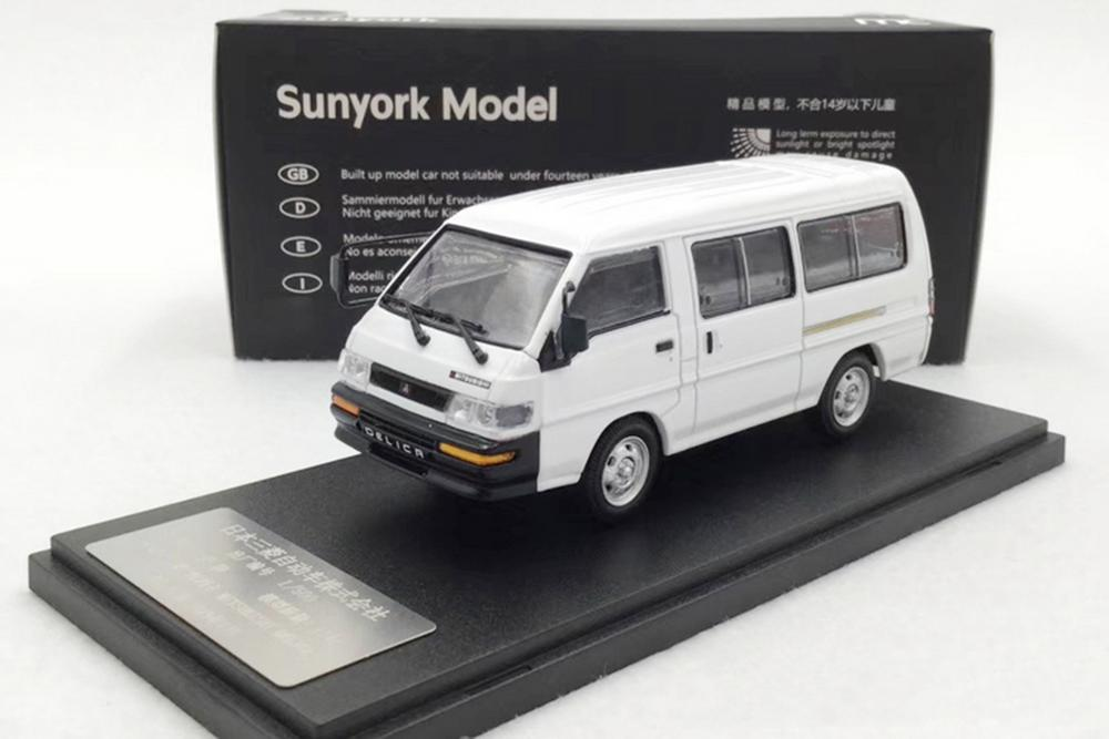 1/43 Mitsubishi Delica L300 Van White Limited Edition Diecast Car Model Gift