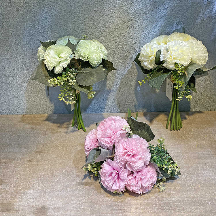 1 Stück DIY Frische KÜNstliche Blume Nelke Seidenblume Gefälschte Pflanze F R8I4