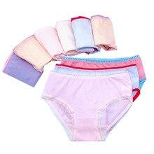 Cotton Panties Underwear Briefs Short 1-12years Baby-Girls Kids Children 12pcs/Lot