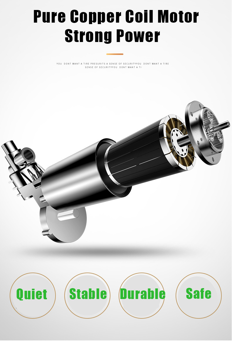 Do Cilindro Portátil Auto Inflador de Pneus para o Carro Auto pneus