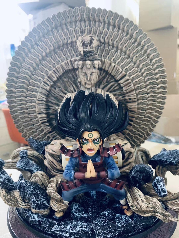 Anime One Piece Senju Hashirama Thousand-hand Bodhisattva Ver. PVC Model Figure Toy