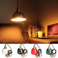 Nordic loft simple pendant lights E27 LED modern creativ e hanging lamp design DIY for bedroom living room kitchen restaurant