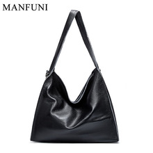 2019 New Fashion Women Shoulder Bag Soft Real Genuine Leather Hobo Bag For Lady Casual Totes Luxury Handbags Purse Satchel Black women genuine real cow leather handbag doctor saddle bag fashion purse shoulder satchel designer daily work lady free shipping