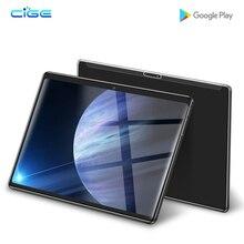 N9 ใหม่ 10.1 นิ้ว 3G แท็บเล็ตพีซีแท็บเล็ต 4G LTE Octa Core 6GB RAM 64GB ROM 1280*800 IPS 2.5D กระจกนิรภัย 10 แท็บเล็ต Android 8.0 + ของขวัญ