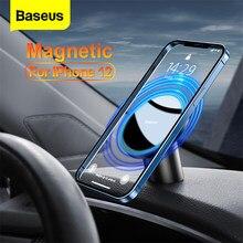 Baseus-soporte magnético para teléfono móvil iPhone 12 Pro Max, soporte Universal para teléfono inteligente