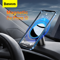 Baseus Magnetic Car Phone Holder for iPhone 12 Pro Max Auto Mount Air Vent Universal for iPhone12 Smartphone Phone Stand Holder
