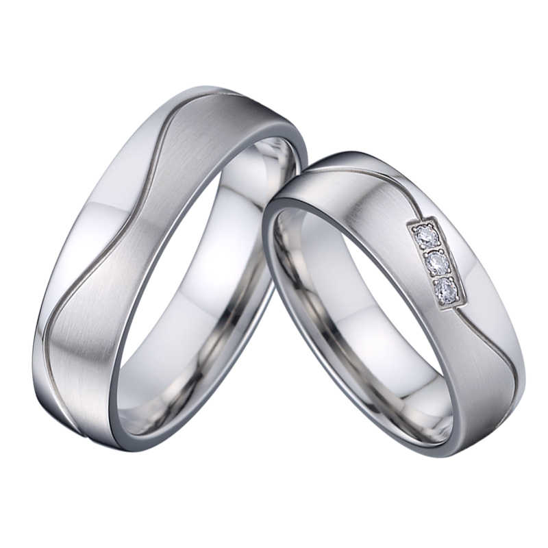Marriage Alliances Wedding Rings Set For Couples Men And Women