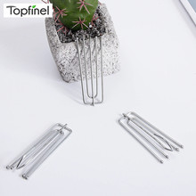 Fasteners Curtain-Accessories Poles Rail Tracks Stainless-Steel Metal for Topfinel And