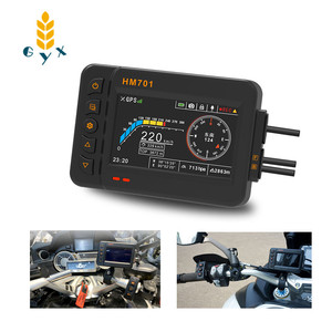 Motorcycle and locomotive driving recorder/Night vision HD camera/Waterproof front and rear dual lens/Ultra wide-angle lens x