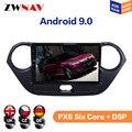 Android 9 4 + 64 ГБ для Hyundai I10 2013 2014 2015 2016 IPS HD экран радио Автомобильный мультимедийный плеер GPS Навигация Аудио Видео
