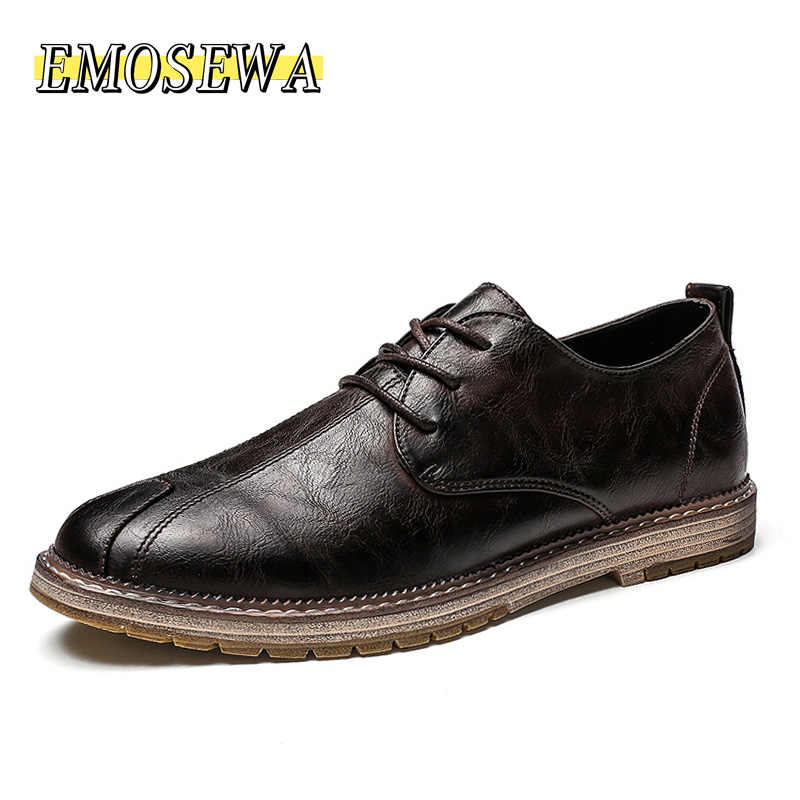 Nieuwe Klassieke Mannen Casual Schoenen Instappers Mannen Schoenen Kwaliteit Split Lederen Schoenen Mannen Flats Hot Koop Mocassins Schoenen Plus Size 38-48