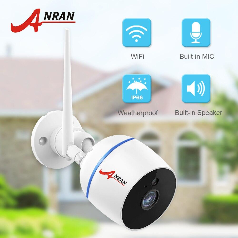 IP Camera Wifi 1080P Video Surveillance Outdoor Waterproof HD Two Way Audio Wireless Security Camera Onvif External SD Card Slot