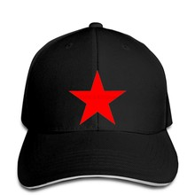 Baseball Cap Red star Army Green free delivery Snapback hat peaked(China)