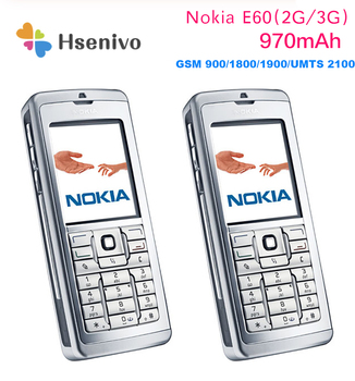 E60 Nokia E60 Mobile Phone Unlocked Original Phone Gsm Cell Phone Triband 3G mobile phone Free shipping image