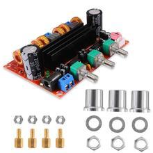 XH M190 TDA3116D2, placa amplificadora Digital de alta potencia, TPA3116, módulo amplificador de Audio de dos canales, 12 24V
