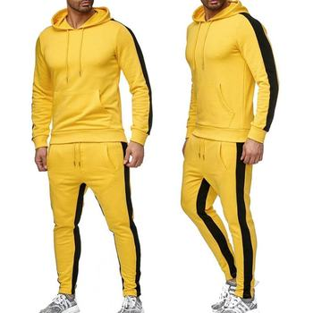 2020 New Brand Tracksuit men thermal underwear Men Sportswear Sets Fleece Thick hoodie+Pants Sporting Suit Malechandal hombre men tracksuit cotton gyms suit sportswear two piece outfits fleece thick hoodie trousers jackets