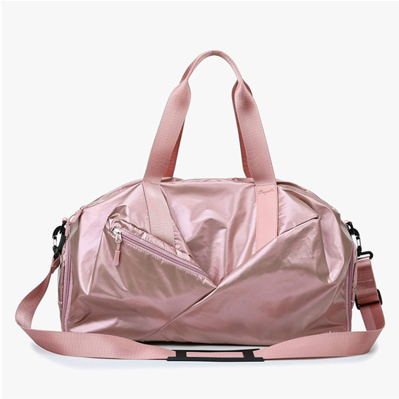 2019 Yoga Fitness Bag Waterproof Nylon Training Shoulder Crossbody Sport Bag For Women Fitness Travel Duffel Clothes Gym Bags