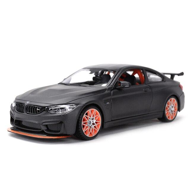 Maisto 1:24 bmw M4 gtsスポーツ車静的ダイキャスト車両モデルカーのおもちゃ