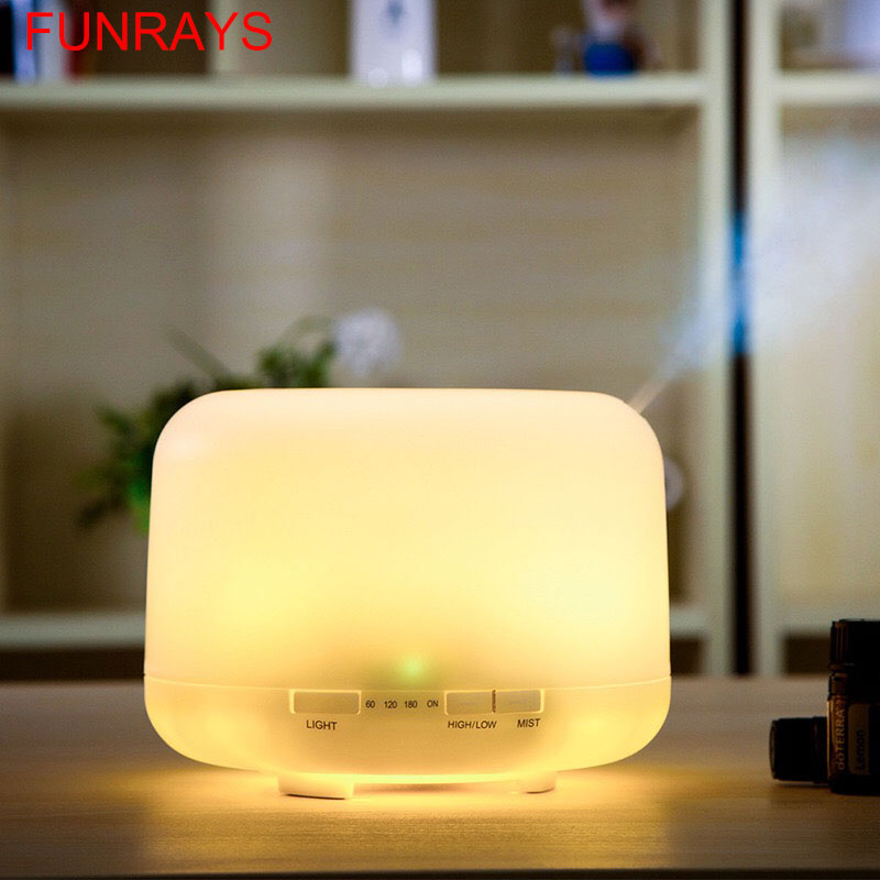 Aroma Oil Diffuser Ultrasonic Air Humidifier  Night Lights For Office Home  Discount