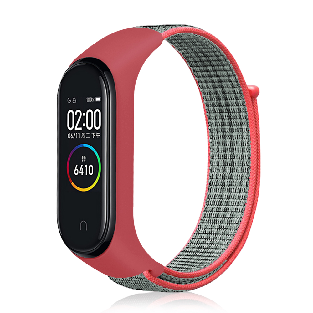 YAYUU Velcro Nylon Bracelet WristStrap For Xiaomi Mi Band 4 For Mi Band 3 4 Sports Breathable For Xiomi Miband 3 Smart Watchband