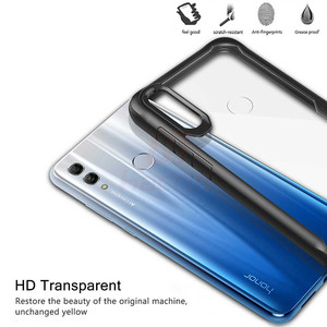 Image 5 - Case Voor Honor 10 Lite Case Shockproof Robuuste Bumper Transparant Soft Tpu Silicon Phone Protector Cover Voor Huawei P Smart 2019