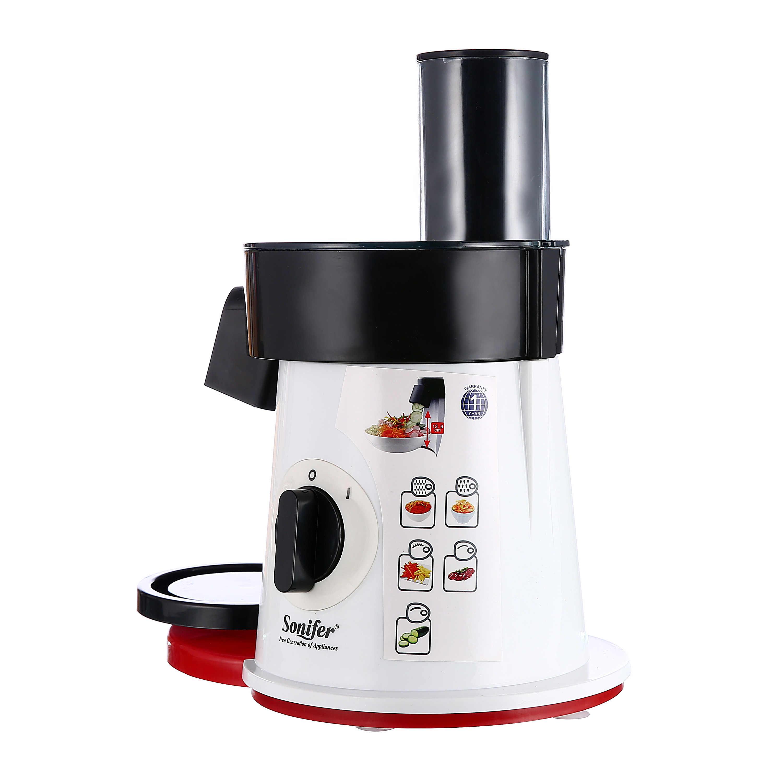 Processador de alimentos cortador de legumes elétrico redondo ralador slicer batata cenoura shredder slicer vegetal chopper para cozinha sonifer