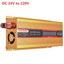 New 4000W Car Solar Inverter Power Inverter 12/24V To AC 220 USB Adapter Modified Sine Wave Converter for Car Camping Travaling(China)