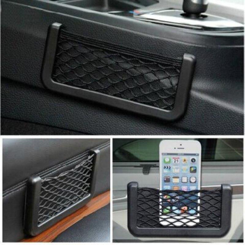For Citroen DS DS4 DS4S DS5 DS6 DS7 DS5LS DS3 Car Seat Side Back Storage Net Bag Phone Holder Pocket Organizer Stowing Tidying
