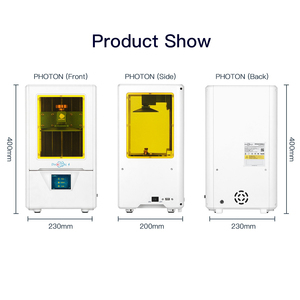 Image 5 - 2019 Anycubic Photon S Resin 3D Printer Plus Size SLA/LCD High Precision Light Curing Impresora 3d Kits 3d printer upgrade