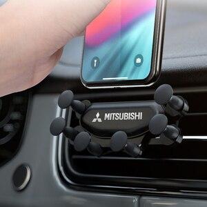 Interior do carro clipe de ventilação ar montagem sem magnético suporte do telefone móvel para mitsubishi asx lancer outlander pajero acessórios