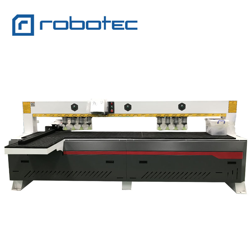 Automatic Multi-function Side Drilling Boring Cnc Woodworking Machine For Furniture