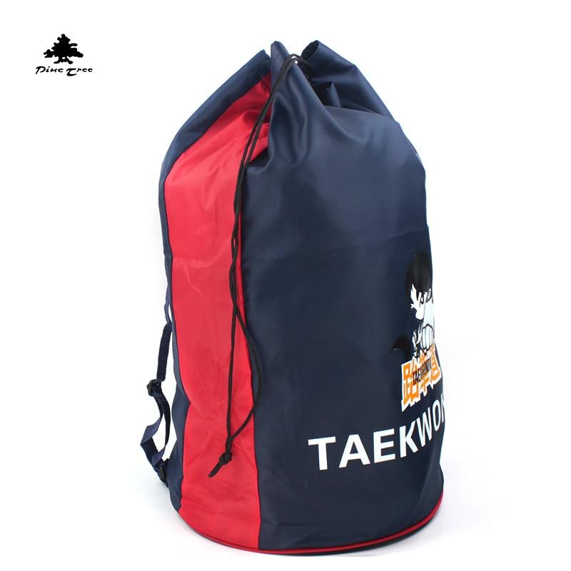 Спортивная сумка для тхэквондо, черная сумка для тхэквондо