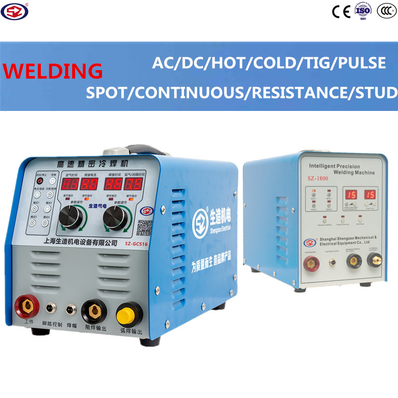 SHENGZAO stainless steel welder AC DC Smart Pulse Cold Welding Machine TIG Aluminum with Aluminum Alloy TIG Welding Machine image