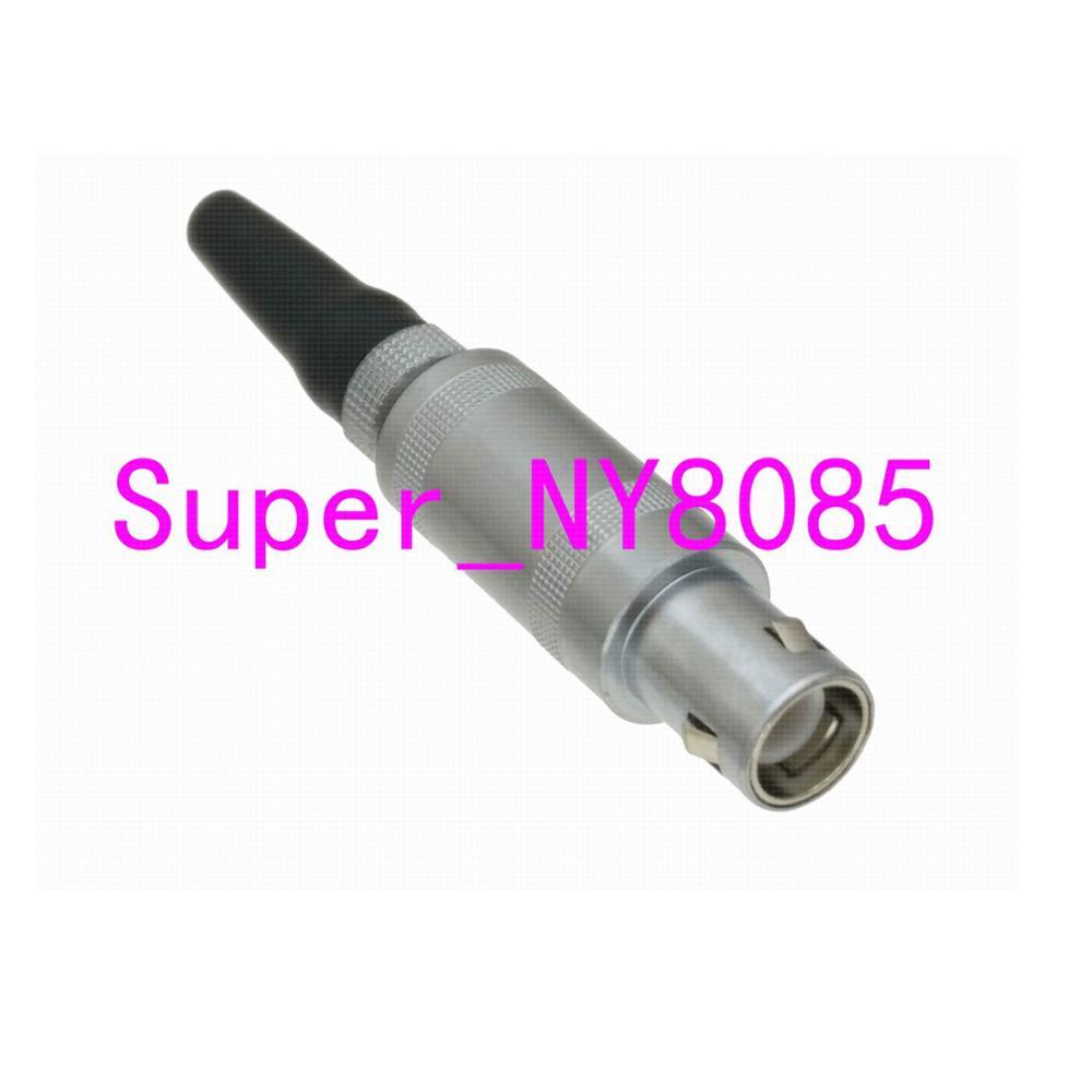 1pce LEMO-1S C9 Connector For Panametrics Krautkramer Ultrasonic Flaw Detector