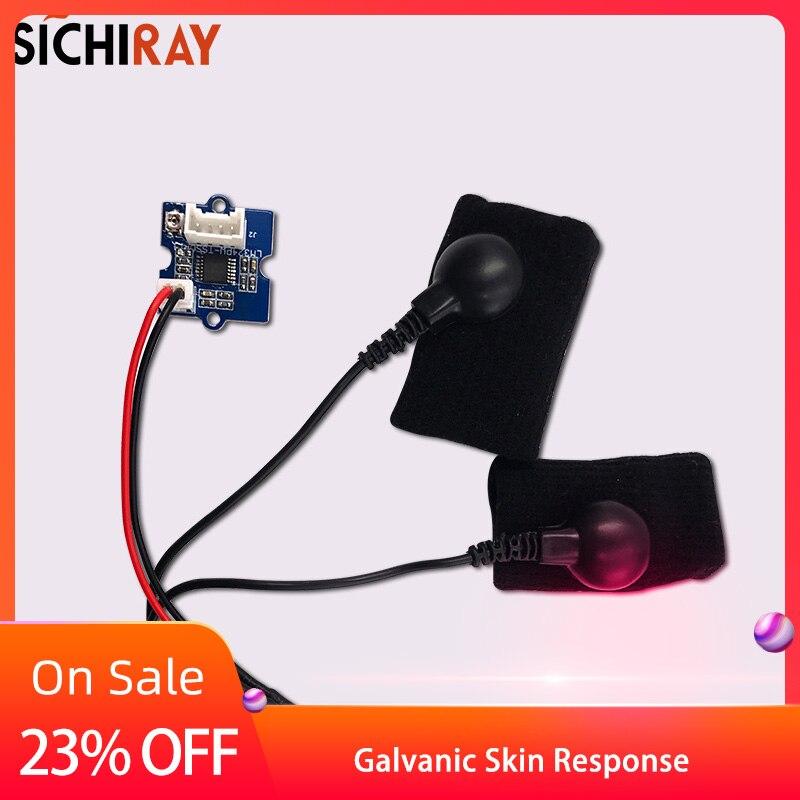 Galvanic Skin Response Sensor (GSR - Sweating)  Of Current Sensor Suite Measurable Skin Resistance Conductivity Sensor