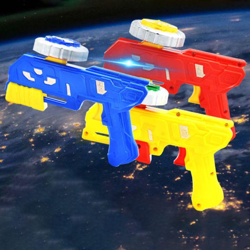 Gyro Gun Peg-top Spinning Funny Toy Kids Classic Gyroscope Children Game Toys