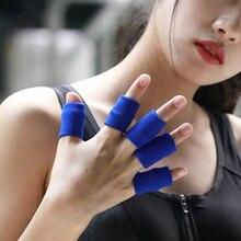 10шт нейлон костяшки втулка пальца защитной оболочки для спорта дышащий подтяжки, цвет кожи
