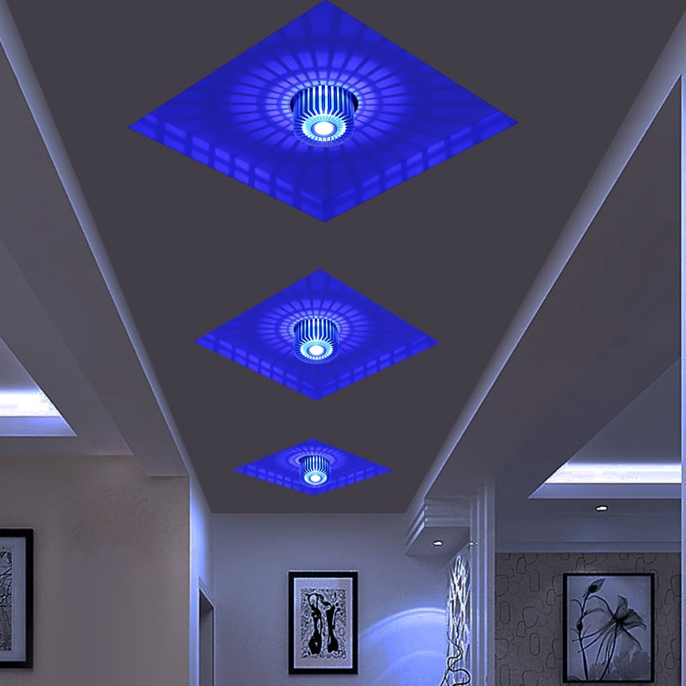 cheapest Modern Led Downlight  Recessed Spot Led Ceiling Lamp Surface Mounted Colorful Spot Light For Living Room Corridor Bar KTV Party