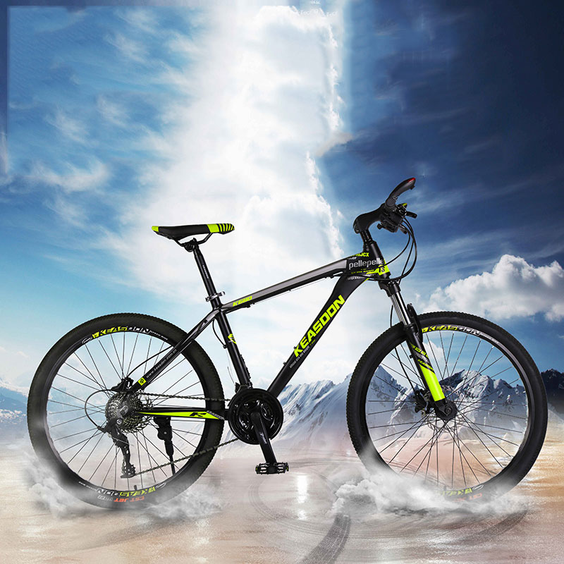 Mountain Bike Aluminum Alloy Adult Men And Women Variable Speed Off Road Student Shock Road Lightweight Bicycle