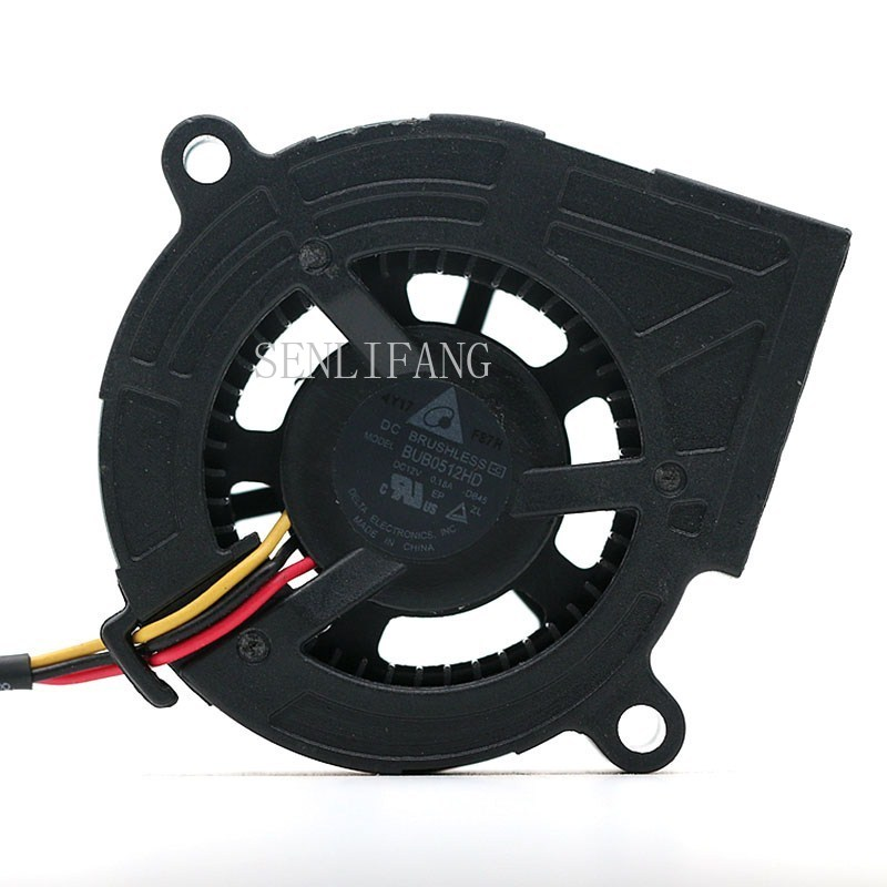 Free Shipping Original For Delta BUB0512HD 12V 0.18A 5cm TS537 Turbine Fan Projector