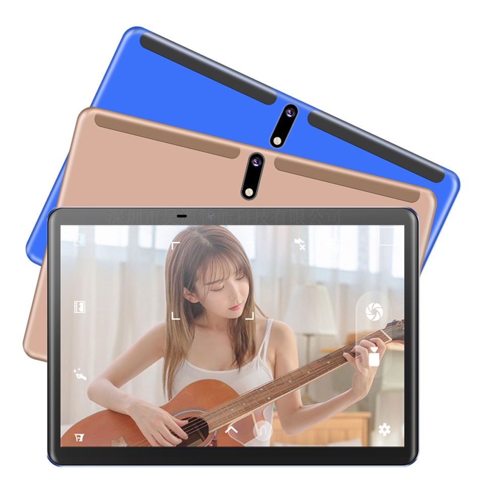 10.1 Inch Tablet PC TYPE-C  Android 9.0 Octa Core  4G LTE FDD Camera 13.0MP 4GB 128GB ROM 1920*1200 2 IN 1 Tablet With Keyborad