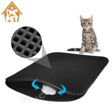 Pet waterproof pet litter mat, EVA double cat litter, mat cleaning products
