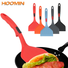 Silicone Turner Pizza-Shovel Frying-Pan Cooking-Tool Food-Lifters Non-Stick Kitchen HOOMIN