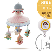 Plush Musical Toys Babies Bed Crib Baby Rattle 0 12 Months Plush Animal Rabbit Miniature Dolls pull string cord music Toy AA50YL