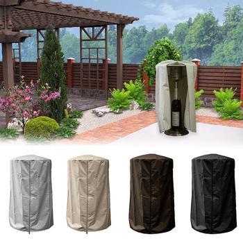 Calentador al aire libre cubierta de polvo calentador de Patio cubierta protectora impermeable cubierta de calentador de mesa para muebles de jardinería